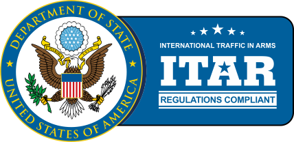 ITAR ( International Traffic in Arms Regulations ) Compliant